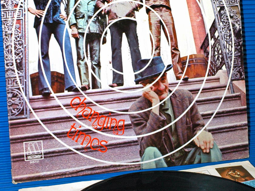 """THE FOUR TOPS   - """"Changing Times"""" - Motown 1970 1st pressing"""