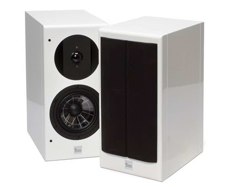 Vienna Acoustics Haydn Grand SE Bookshelf Speakers Piano White Pair (New) (13175)