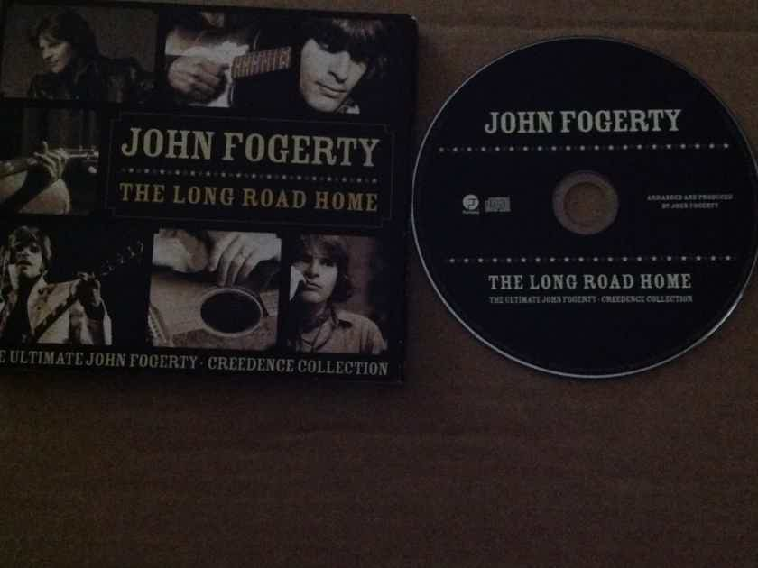 John Fogerty - The Long Road Home Fantasy Records Compact Disc With 25 Tracks