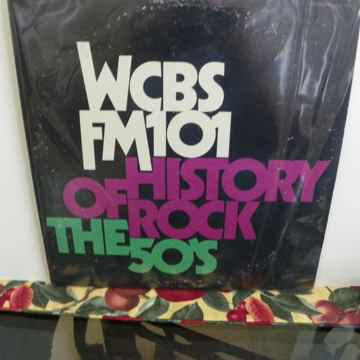 WCBS FM101 - HISTORY OF ROCK THE 50'S 2LPs