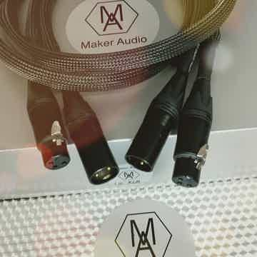 Maker Audio Reference cables xlr