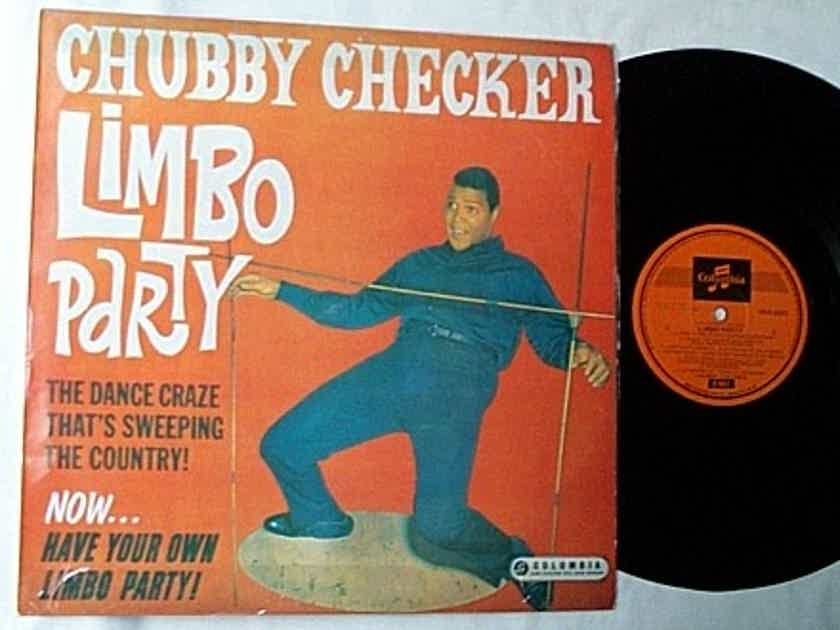 CHUBBY CHECKER LP - --LIMBO PARTY-- mega rare 1962 album on Columbia --MONO--MADE IN AUSTRALIA