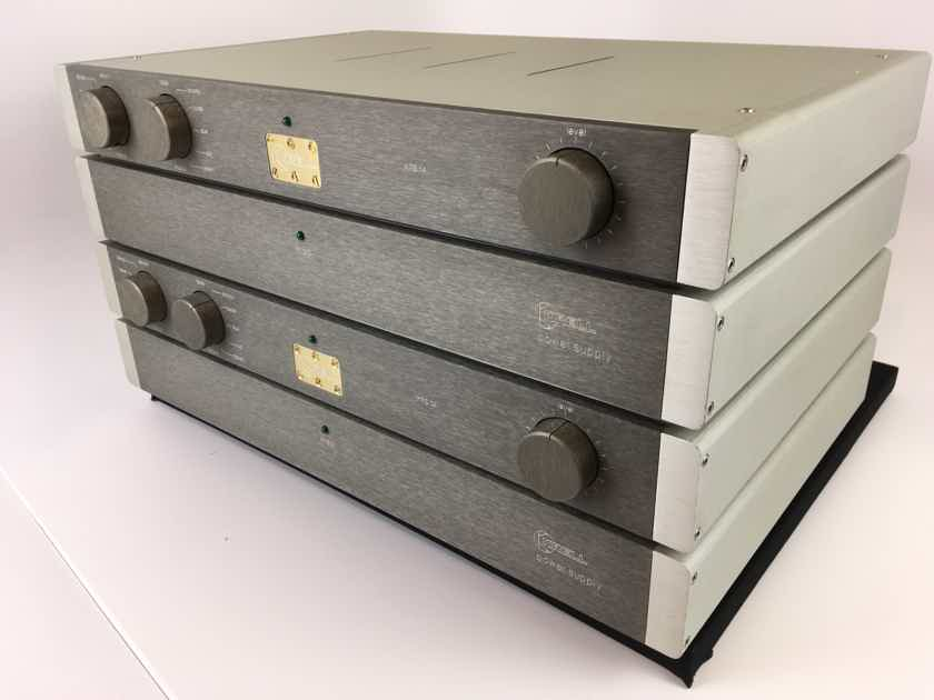 Krell KRS-1a 4 Piece Reference Preamp with Phono, Fully Serviced and Perf