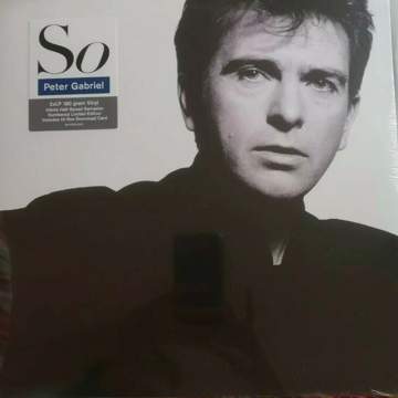 """So"" Half Speed Mastered 45rpm 2LP set - New"