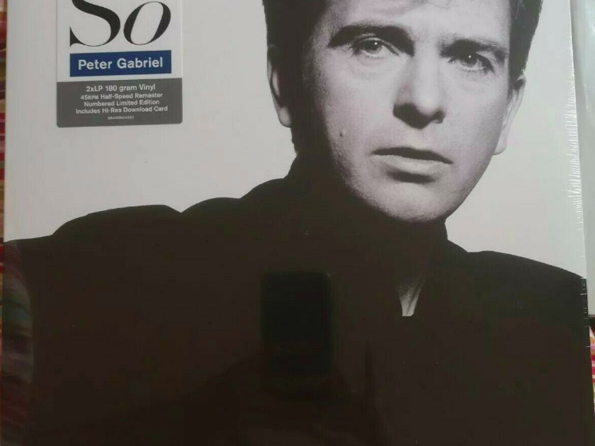 "Peter Gabriel ""So"" Half Speed Mastered 45rpm 2LP set - New"