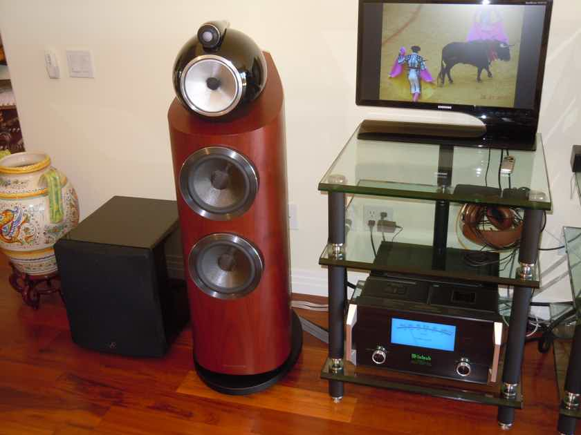 B&W (Bowers & Wilkins) 802D3 Absolutely MINT condition.  REDUCED!