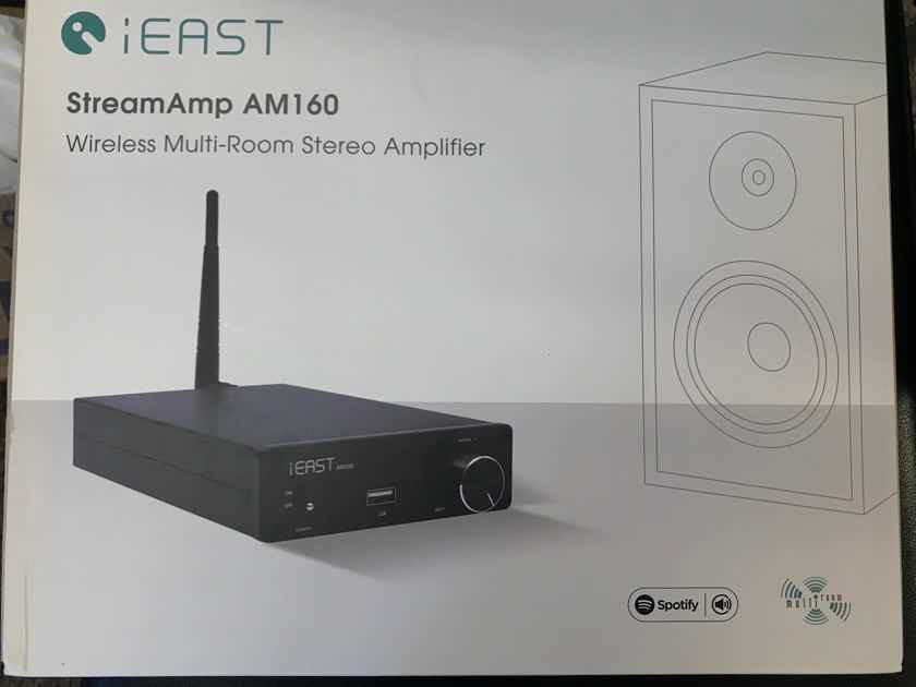 iEAST Stream Amp WiFi Streaming Audio W/2x80W Amp