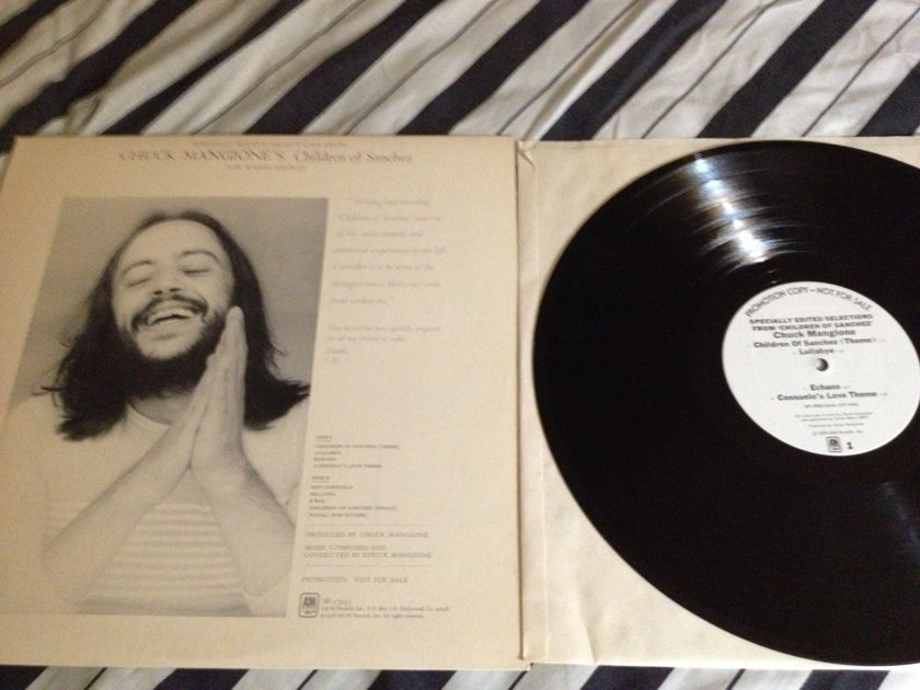 Chuck Mangione - Edited Selections Promo Vinyl Children Of Sanchez LP NM