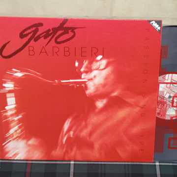 Gato Barbieri  -  Passion And Fire A&M AM+ Half Speed M...