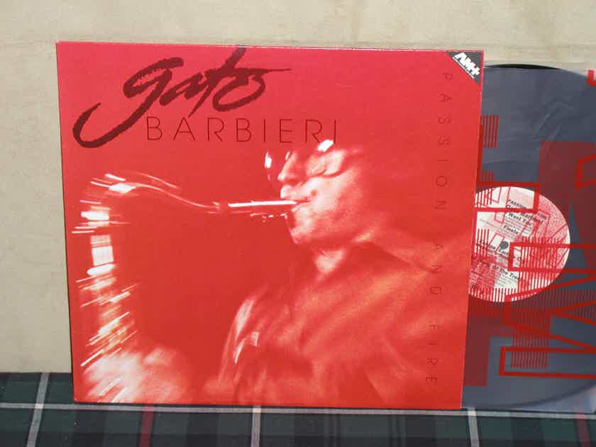 Gato Barbieri  -  Passion And Fire A&M AM+ Half Speed Mastered