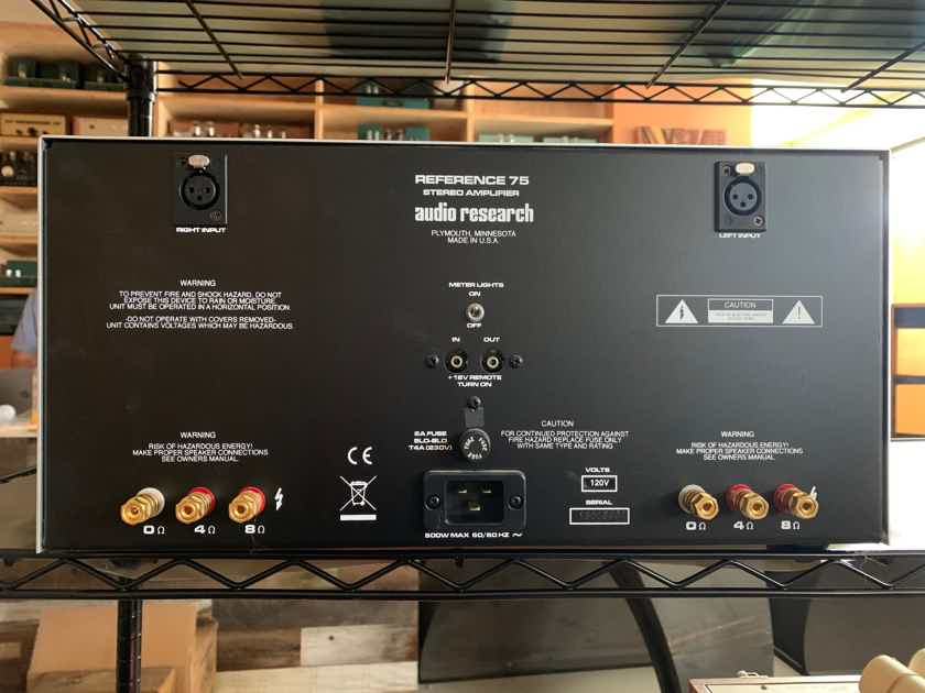 Audio Research Reference REF 75 Amplifier