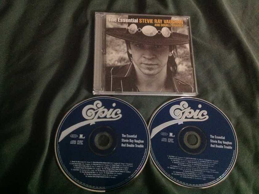 Stevie Ray Vaughan And Double Trouble - The Essential Epic Records 2 Compact Disc Set