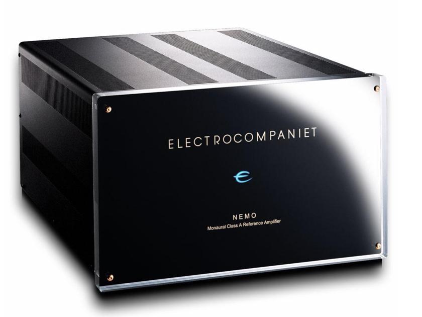 2 each Electrocompaniet Nemo aw600 monoblocks