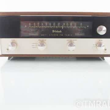MR71 Vintage Tube FM Tuner w/ Wood Cabinet