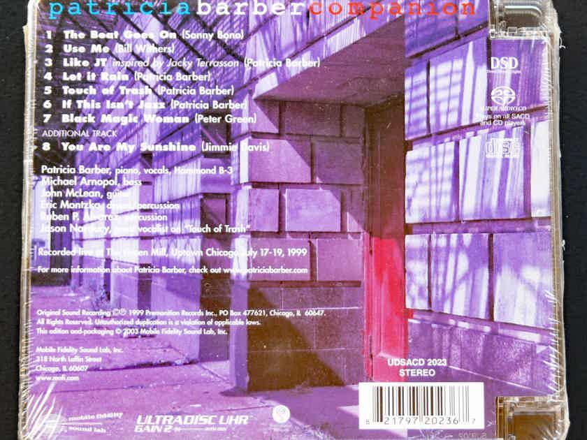 MFSL SACD PATRICIA BARBER ** SEALED **  - COMPANION  GOLD SUPER AUDIO CD MoFi