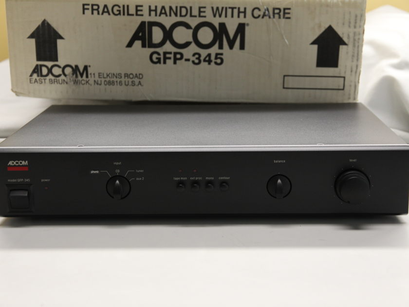ADCOM GFP-345 Preamplifier with PHO-802A Phono Option