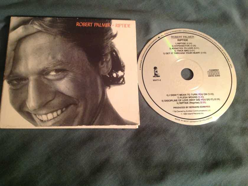 Robert Palmer  Riptide Island Records West Germany