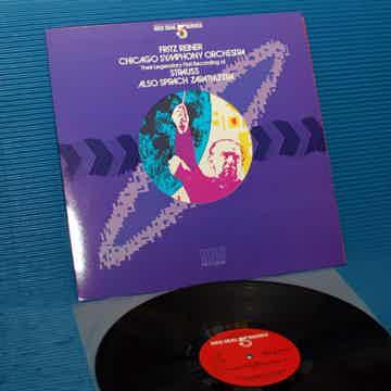 """STRAUSS / Reiner  - """"Also Sprach Zarathustra"""" -  RCA .5..."""