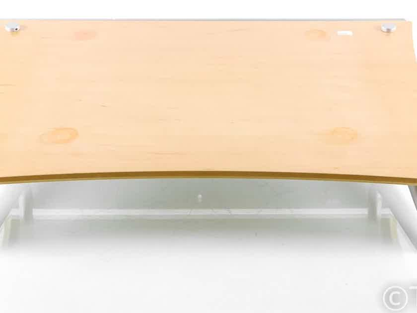 Quadraspire Wall-Mount Turntable Isolation Shelf; Q4 EVO; Maple (26900)