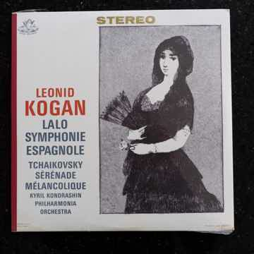 Leonid Kogan/Kyril Kondrashin, Philharmonia Orch. Lalo Symph. Espagnole/Tchaikovsky