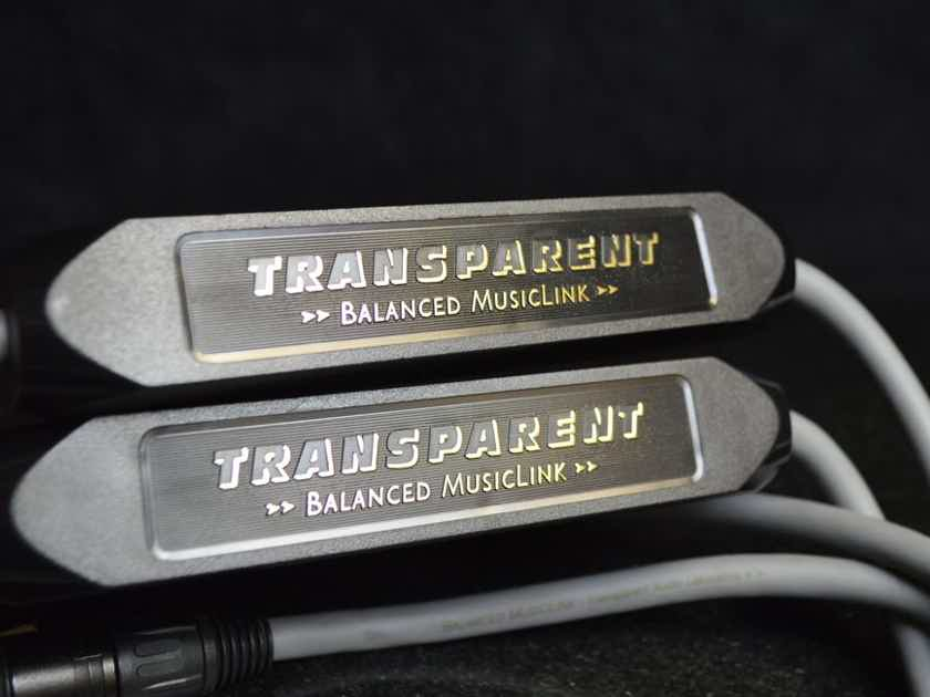Transparent Audio MusicLink - Balanced Interconnect - 2M/pair