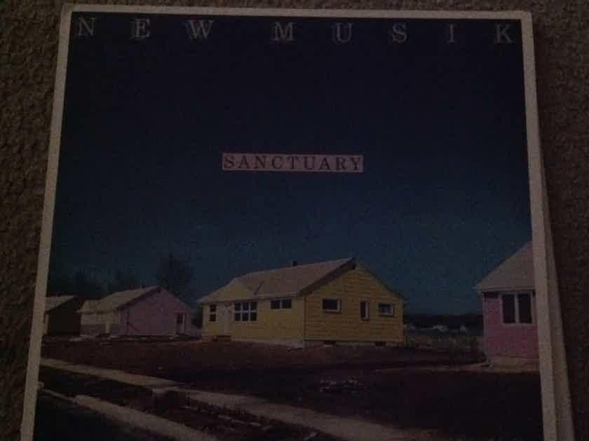 New Musik - Sanctuary Epic Records CX Encoded Vinyl LP NM