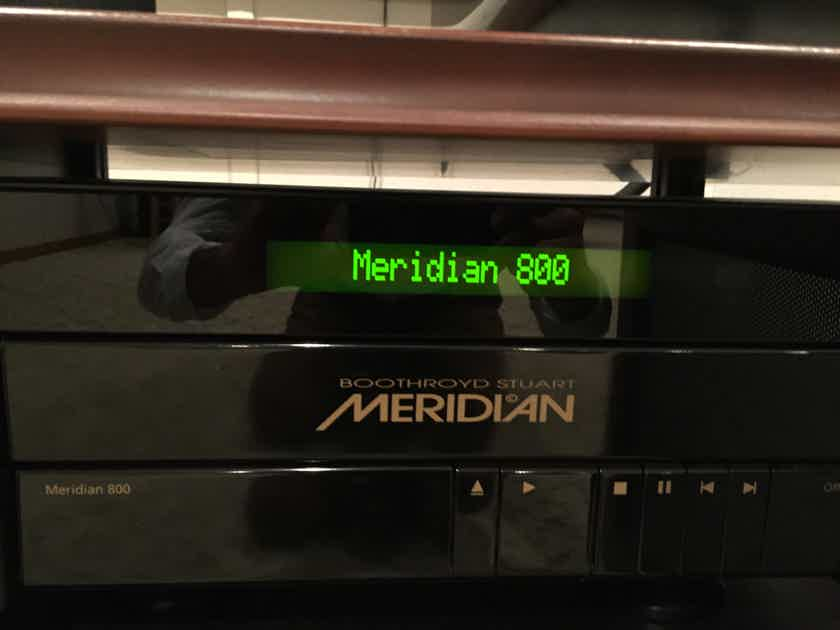 MERIDIAN 800D V 4 WITH LINEAR POWER SUPPLY  UPGRADE