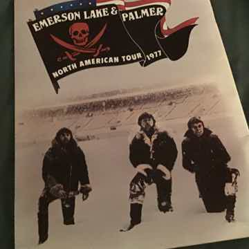 Emerson,Lake & Palmer 1977 North American Tour Programme
