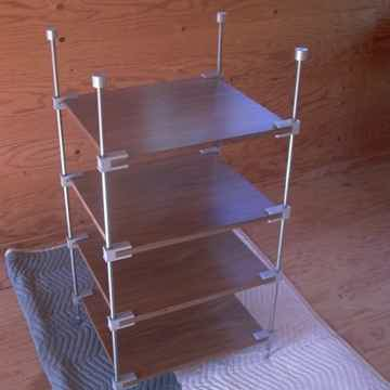 Optimus for sale in this ad, walnut shelves, four clamps