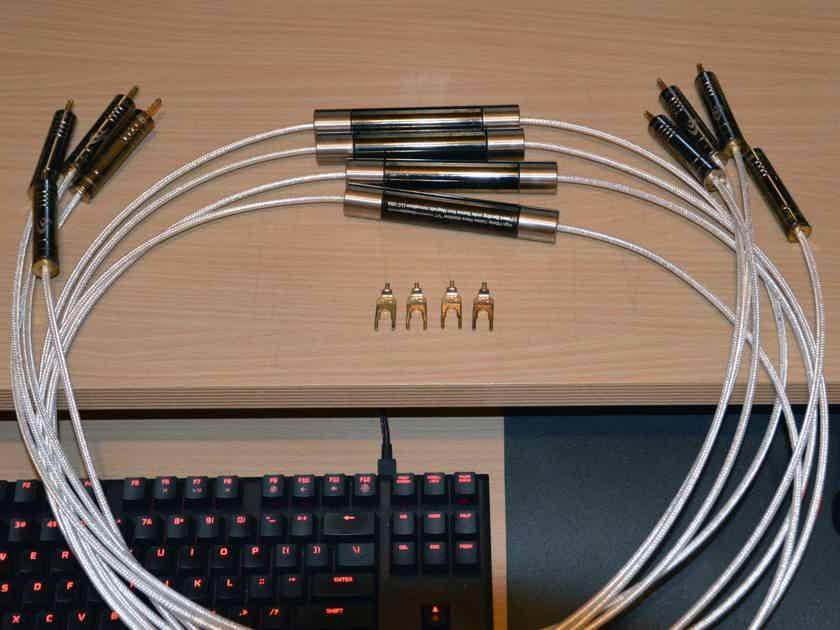 High Fidelity Cables CT-1E Speaker Cables (2.25m)