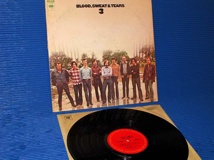 "BLOOD, SWEAT & TEARS  - ""3"" -  Columbia 1970 1st Pressing"