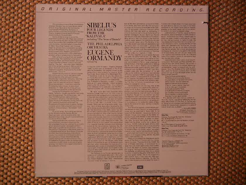 Sibelius - Four Legens From Kalevala MFSL 1-523 Original Master Recording