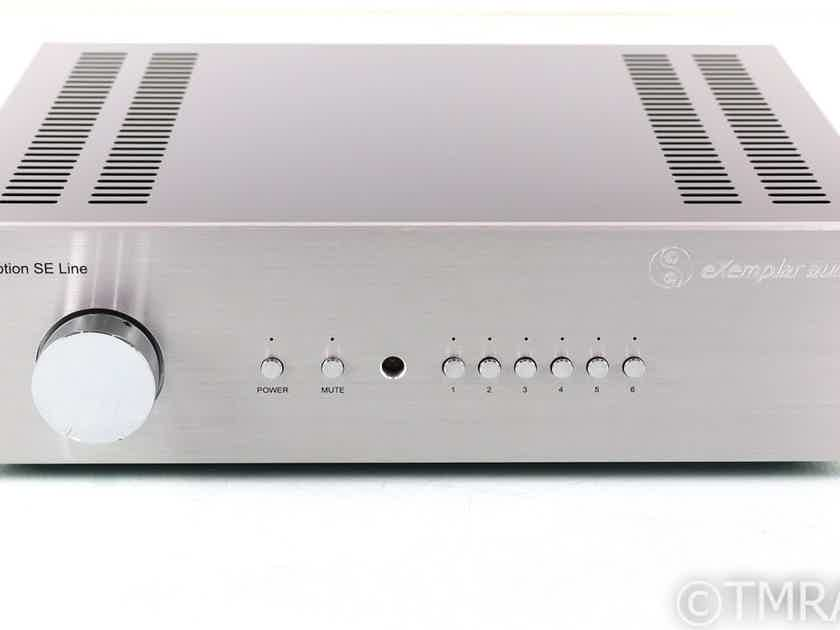 Exemplar Audio eXception SE Line Stereo Tube Preamplifier; Remote (27948)