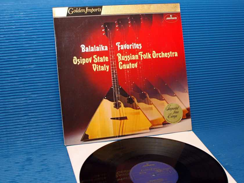 "OSIPOV STATE RUSSIAN ORCHESTRA   - ""Balalaika Favorites"" -  Mercury Golden Imports 1975"