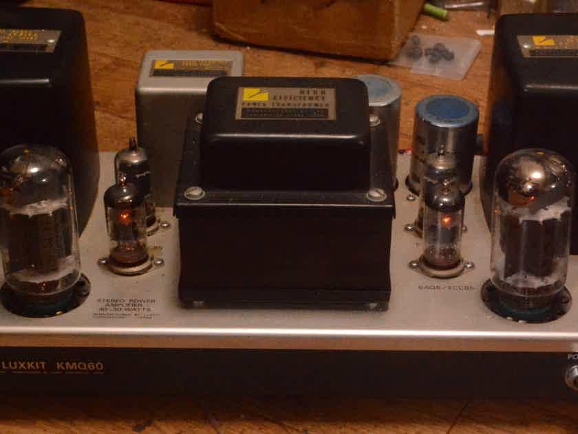 Luxman  MQ-60 stereo tube amplifier * VG++ condition