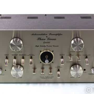 4000 Vintage Stereo Preamplifier