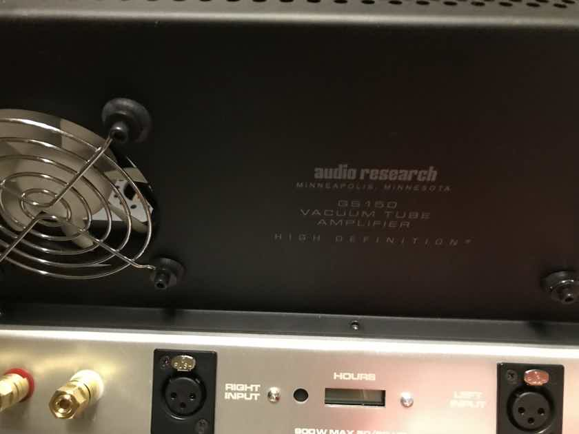 Audio Research GS150 low hours  We Welcome Trades 2 units available