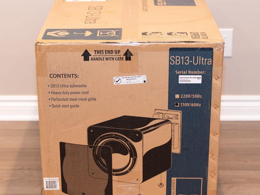 SVS SB13-Ultra (SB-4000 Bluetooth Amp Upgraded 1,200 Watt RMS)