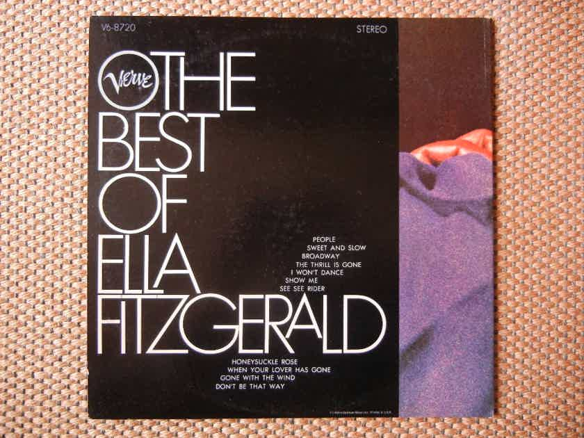 Ella Fitzgerald - The Best Of Verve V6-8720 Stereo