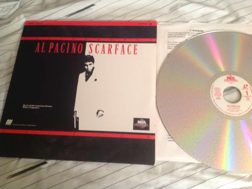 Al Pacino Scarface Widescreen Letterbox Edition