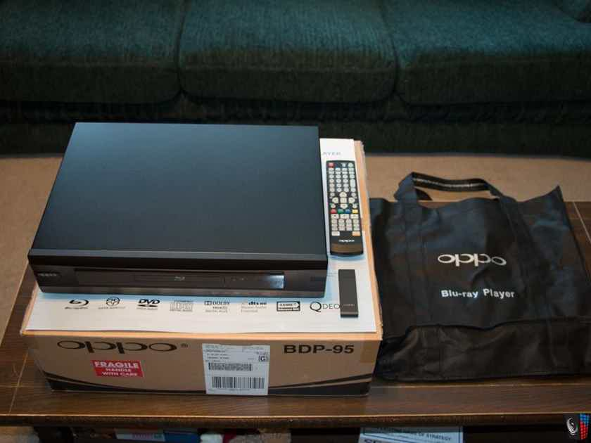 OPPO BDP-95 w/ISO Playback