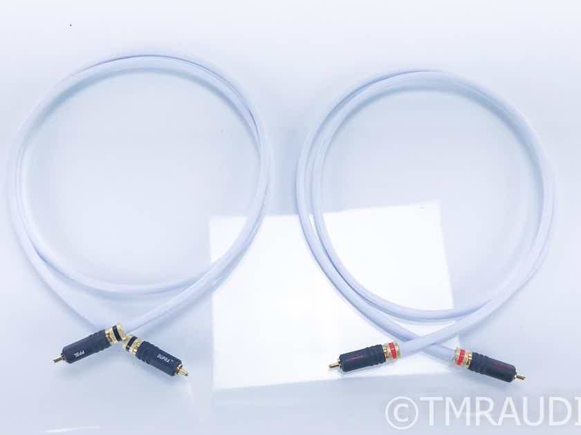 Supra EFF-I RCA Cables; 1.5m Pair Interconnects; Supra PPSL Terminations (17727)