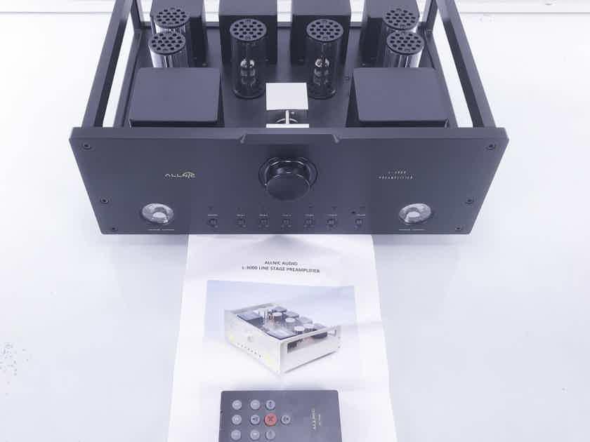 Allnic  L-3000 MKII Stereo Tube Preamplifier; Remote (10281)