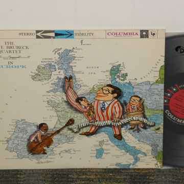 "Dave Brubeck Quartet ""in Europe"" Columbia 6 eye Stereo ..."