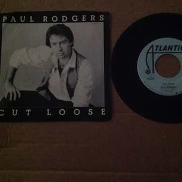 Paul Rodgers - Cut Loose Atlantic Records Promo 45 Sing...