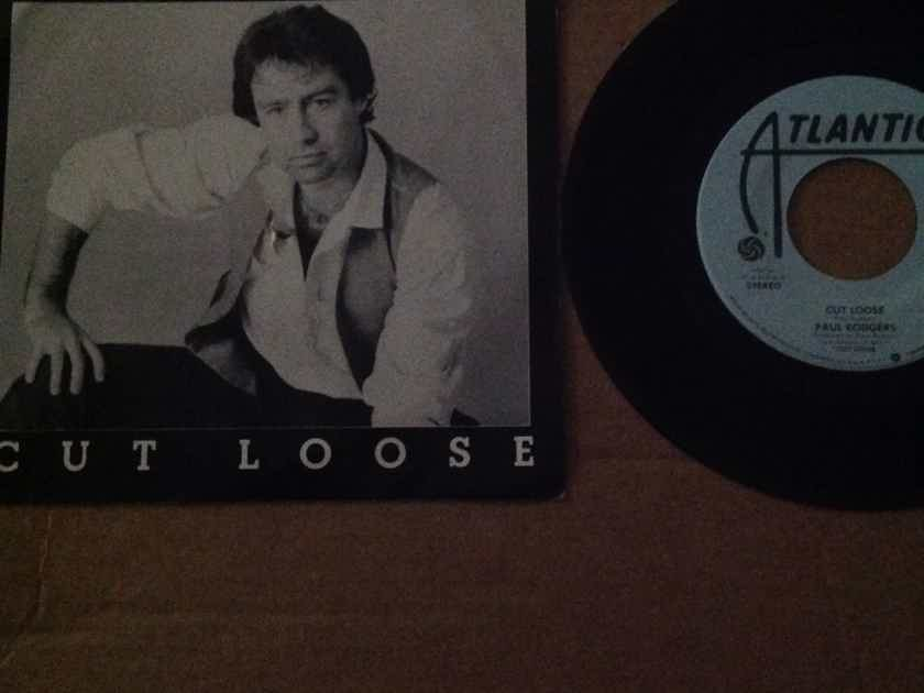 Paul Rodgers - Cut Loose Atlantic Records Promo 45 Single Vinyl NM