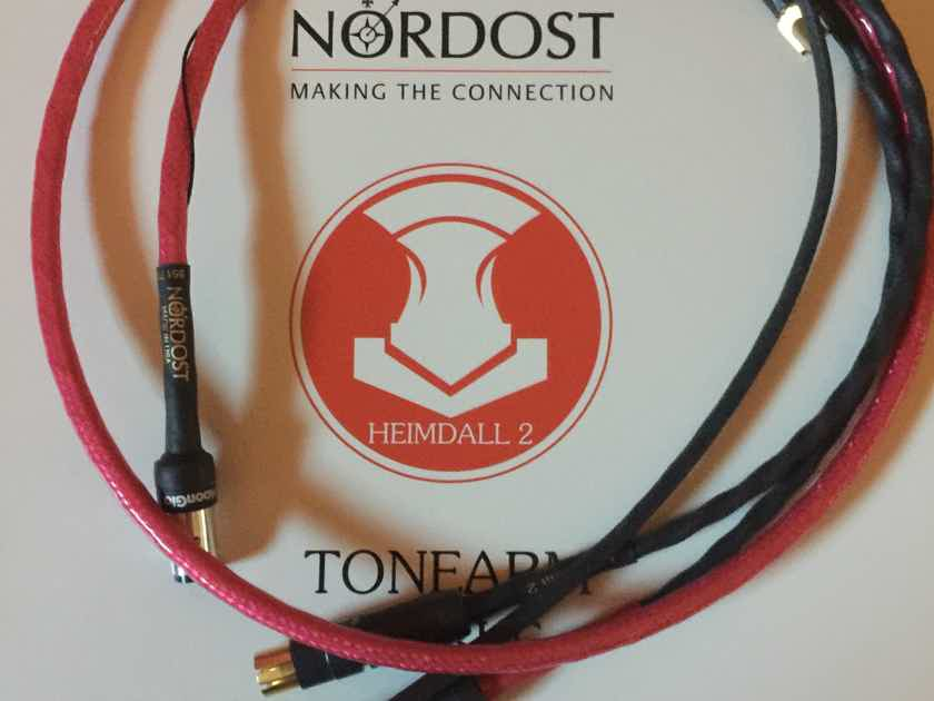 Nordost Heimdall 2 Tonearm Cable