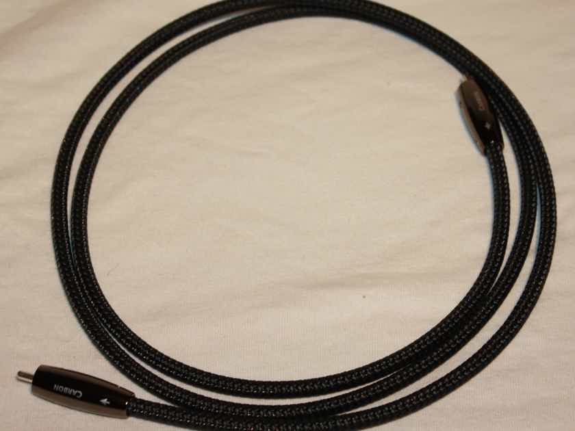 AudioQuest Carbon Coax Digital S/PDIF RCA Cable. 1.5m. NEW