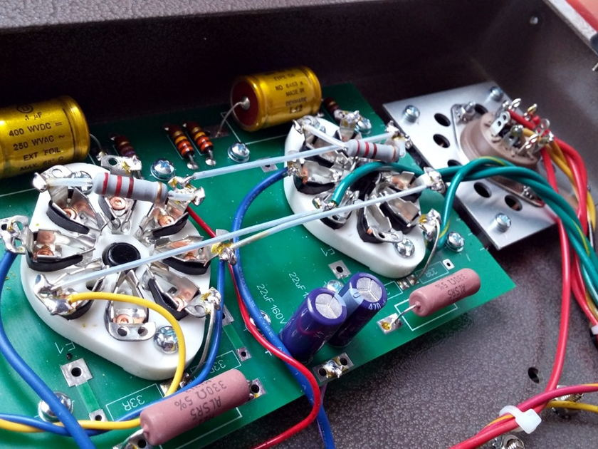 Pentode 6 SE 6L6 Stereo Power Amp Classic Class A Autobias