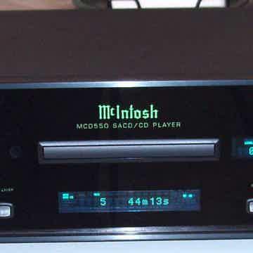 McIntosh MCD-550 SACD/CD Player